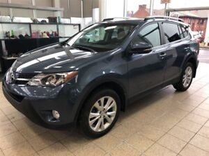 2014 Toyota RAV4 Limited AWD *GPS, CUIR, BLUETOOTH*
