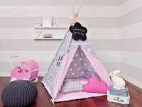 Teepee tent handmade perfect for Christmas