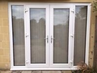Almost new French doors - 2490 x 2040