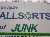 Junk and waste collection and disposal service