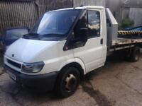 2002 Ford Transit Recovery Truck, 90 BHP, Runs and Drives (project)