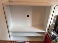 Large white tv stand for FREE