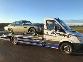 2012 Mercedes sprinter car transporter recovery truck