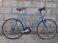 mens bike blue 26'' dynamix 18 gears