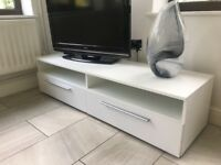White TV unit from Very in great condition!