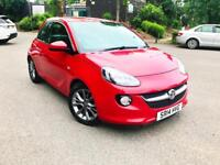 2014 VAUXHALL ADAM JAM 1.2 MANAUL FLAME RED, ONLY 37 MILES, NEW MOT, TOP SPEC, TOUCH DISPLAY BARGAIN
