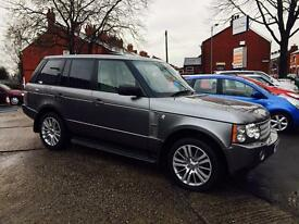 LAND ROVER RANGE ROVER TDV8 2008 FULL SERVICE HISTORY 2 OWNERS FINANCE AVAILABLE £12995
