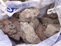 White Granite Rockery Stones **Bulk Bag**