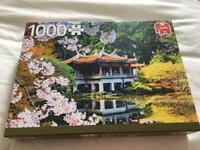 1000 jigsaw- blossom in japan