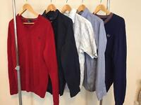 Fred Perry bundle jumpers and shirts