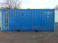 20ft storage containers for sale x2