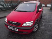 VAUXHALL ZAFIRA 2.0ltr DIESEL-GOOD CONDITION-MOTED