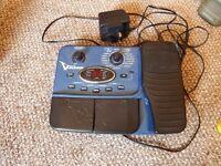 Behringer V amp effects pedal for electric guitar.