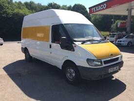 Ford transit new mot £1550