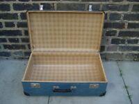 FREE DELIVERY Vintage Czechoslovakian Kazeto Paper Suitcase Retro Mid Century