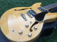 RARE VINTAGE 1978 MIJ YAMAHA SA700 semi acoustic; pro setup; hard case; 335
