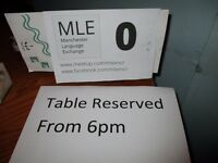 MLE Manchester Language Exchange