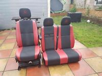 mercedes sprinter driver seat air suspansion and passanger seat