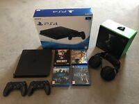 Sony PlayStation 4 1TB **MANY EXTRAS**