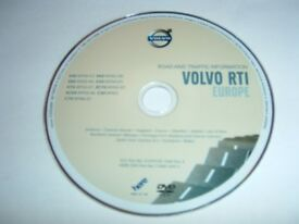 Volvo Road and Traffic Information Disc for Europe.