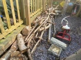 Season long burning wood