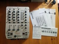 Behringer VMX300 3-Channel VCA Controlled DJ Pro Mixer