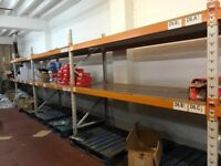 INDUSTRIAL PALLET RACKING HEAVY DUTY METAL WAREHOUSE SHELVING - CENTRAL MANCHESTER