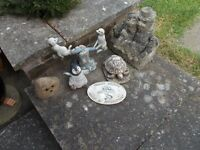 Collection of Garden Ornaments