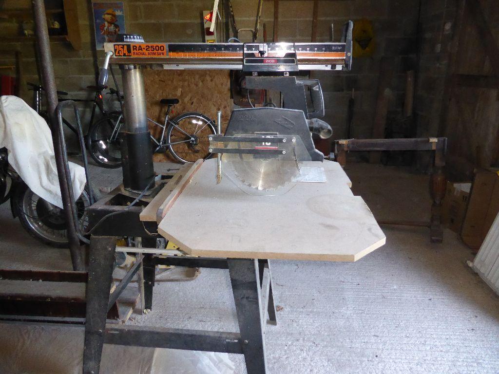 Radial Arm Chop Saw Ryobi 2500 10quot 254mm in Kingsbridge  : 86 from www.gumtree.com size 1024 x 768 jpeg 118kB