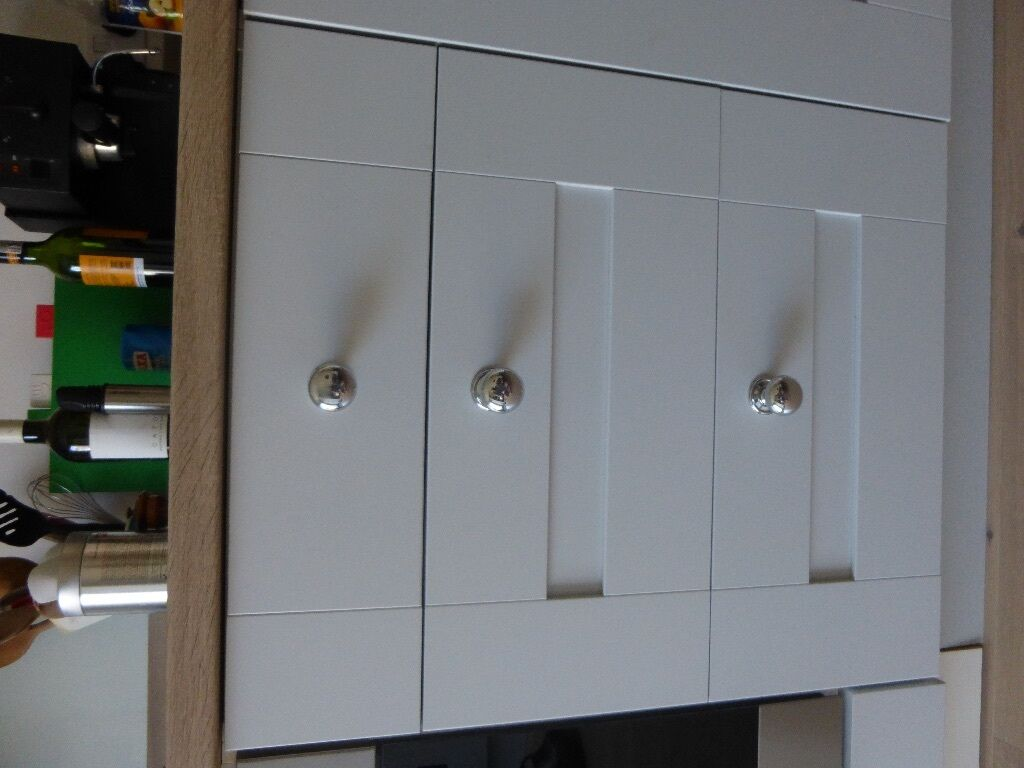 Beautiful John Lewis replacement kitchen doors, drawers, etc ...