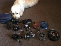 Wanted any old fishing tackle reels rods ect