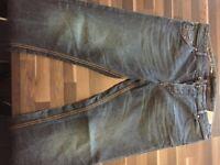 Diesel Men's Light Blue Krayver Jeans, Regular Slim Carrot Fit 34W 34L (used) - Collection Only