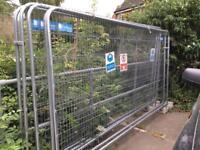 Security Construction Steel Fencing