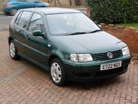 VW Polo 1.4 TDi Diesel - 1 OWNER FROM NEW - ONLY 43K MILES FROM NEW