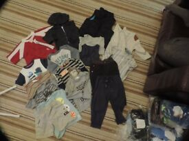 Boys 18 - 24 baby bundle; mostly mothercare, next and other brands too