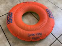 Zoggs Swim Ring - only used once - age 2-3
