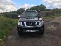 Nissan Nivara 2010/60 2.5 dci Tekna Double Cab Pick Up 112,000 miles