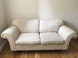 X 2 Laura Ashley Mortimer large two-seater sofas