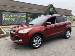 2015 Ford Escape Titanium / LEATHER / HEATED SEATS / CHROME PKG
