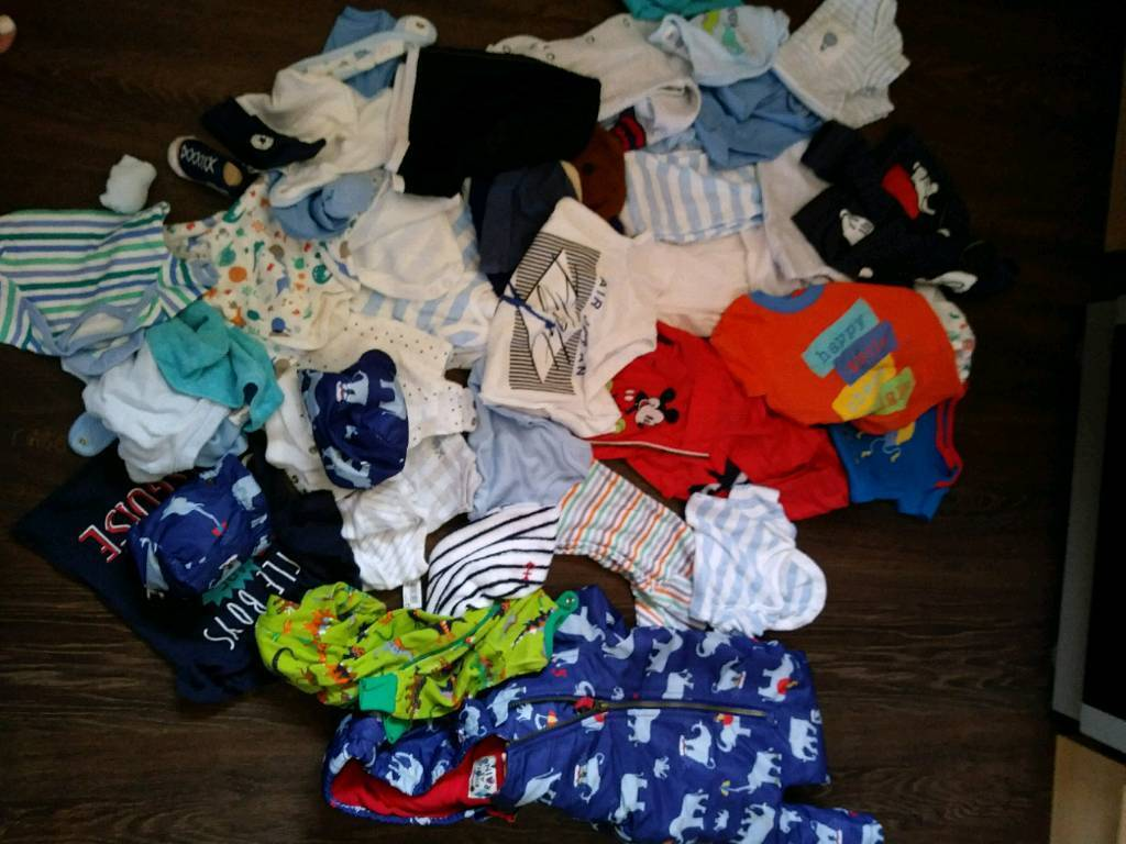 79dc6bdd0240 NEW!! Baby boy 0-3 and 3-6 month clothes £20 the lot