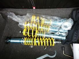 Brand new coilovers selling due to no longer putting the on the car, no marks