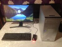 Quad Core Intel PC, 8GB RAM, 500GB Hard Drive PRICE REDUCED