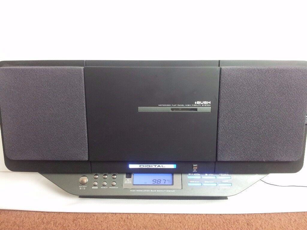 Bush digital clock/CD/radio