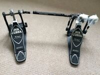 Tama HP900PWSN Iron Cobra Power Glide Twin Drum Pedal,sabian Pearl dw Mapex