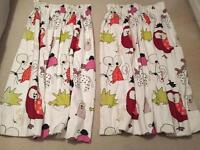 Nursery Curtains (2 pairs available price is per pair)