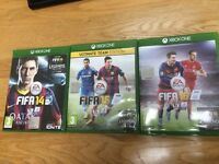 FIFA 14 15 and 16