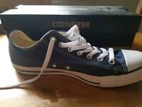 Converse Navy Size 10 Chuck Norris style