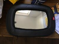 Car seat baby mirror