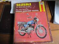 SUZUKI GP100 & 125 SINGLES HAYNES MANUAL