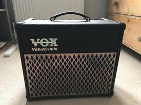 Vox Valvetronix AD15VT electric guitar amplifier - excellent condition